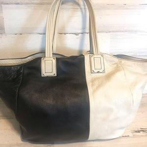 Handbags - Splendid ~ 2 tone leather tote